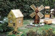 Фото 2 Сад без проблем: делаем декоративную мельницу своими руками