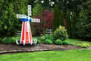 Фото 11 Декоративная мельница для сада своими руками: пошаговая инструкция, фото чертежей и мастер-классы