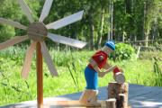 Фото 18 Декоративная мельница для сада своими руками: пошаговая инструкция, фото чертежей и мастер-классы
