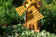 Фото 20 Сад без проблем: делаем декоративную мельницу своими руками