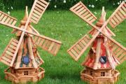 Фото 21 Декоративная мельница для сада своими руками: пошаговая инструкция, фото чертежей и мастер-классы