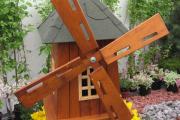 Фото 27 Декоративная мельница для сада своими руками: пошаговая инструкция, фото чертежей и мастер-классы