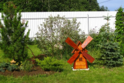 Фото 28 Декоративная мельница для сада своими руками: пошаговая инструкция, фото чертежей и мастер-классы