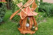 Фото 7 Декоративная мельница для сада своими руками: пошаговая инструкция, фото чертежей и мастер-классы