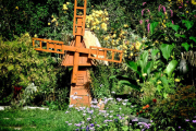 Фото 29 Декоративная мельница для сада своими руками: пошаговая инструкция, фото чертежей и мастер-классы