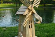 Фото 30 Декоративная мельница для сада своими руками: пошаговая инструкция, фото чертежей и мастер-классы