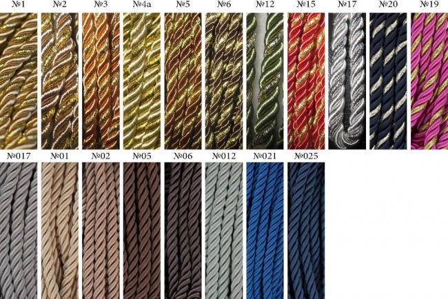 Декоративный шнур для натяжных потолков Виды, монтаж