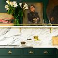 Дизайн кухни зеленого цвета (80+ трендовых интерьеров): модные сочетания оттенков от фисташкового и оливкового до изумруда и хаки фото
