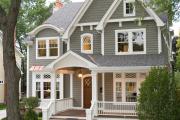 Фото 23 Фронтоны частных домов: виды конструкций, обшивка и варианты монтажа