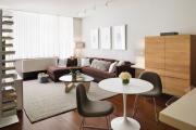 Фото 16 Этюд в нюдовых тонах: 60+ вариантов дизайна гостиной бежево-коричневого цвета