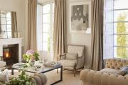 Фото 28 Этюд в нюдовых тонах: 60+ вариантов дизайна гостиной бежево-коричневого цвета