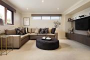 Фото 30 Этюд в нюдовых тонах: 60+ вариантов дизайна гостиной бежево-коричневого цвета