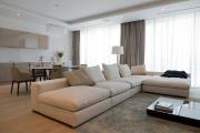 Фото 35 Этюд в нюдовых тонах: 60+ вариантов дизайна гостиной бежево-коричневого цвета