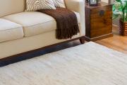 Фото 1 Этюд в нюдовых тонах: 60+ вариантов дизайна гостиной бежево-коричневого цвета