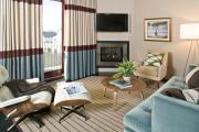 Фото 3 Этюд в нюдовых тонах: 60+ вариантов дизайна гостиной бежево-коричневого цвета