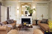 Фото 4 Этюд в нюдовых тонах: 60+ вариантов дизайна гостиной бежево-коричневого цвета