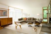 Фото 6 Этюд в нюдовых тонах: 60+ вариантов дизайна гостиной бежево-коричневого цвета