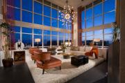 Фото 11 Этюд в нюдовых тонах: 60+ вариантов дизайна гостиной бежево-коричневого цвета