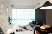 Фото 12 Этюд в нюдовых тонах: 60+ вариантов дизайна гостиной бежево-коричневого цвета