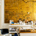 На пике трендов медь и мед: 60+ роскошных интерьеров в золотистой гамме фото