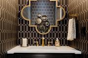 Фото 10 Золотой цвет в интерьере — тренд сезона: 60+ фото восхитительных примеров дизайна и секреты дизайнеров