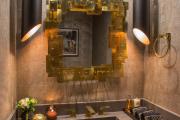 Фото 30 На пике трендов медь и мед: 60+ роскошных интерьеров в золотистой гамме