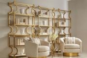 Фото 34 Золотой цвет в интерьере — тренд сезона: 60+ фото восхитительных примеров дизайна и секреты дизайнеров