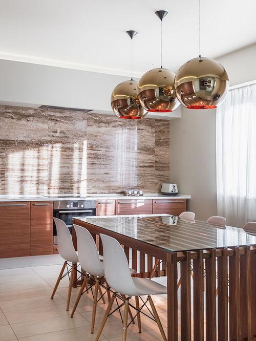 Стильное решение для современного интерьера кухни