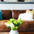 Кожаные диваны для дома и квартиры (60+ лучших недорогих моделей): комфорт без компромиссов! фото