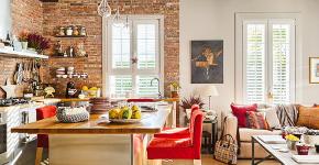 Кухня-гостиная площадью 12 кв. м: создаем продуманный интерьер от минимализма и хай-тека до классики и лофта фото