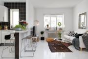 Фото 7 Кухня-гостиная площадью 12 кв. м: создаем продуманный интерьер от минимализма и хай-тека до классики и лофта