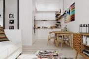Фото 12 Кухня-гостиная площадью 12 кв. м: создаем продуманный интерьер от минимализма и хай-тека до классики и лофта