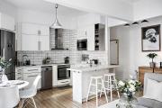 Фото 13 Кухня-гостиная площадью 12 кв. м: создаем продуманный интерьер от минимализма и хай-тека до классики и лофта
