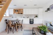 Фото 15 Кухня-гостиная площадью 12 кв. м: создаем продуманный интерьер от минимализма и хай-тека до классики и лофта
