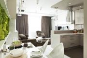 Фото 21 Кухня-гостиная площадью 12 кв. м: создаем продуманный интерьер от минимализма и хай-тека до классики и лофта