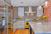 Фото 25 Кухня-гостиная площадью 12 кв. м: создаем продуманный интерьер от минимализма и хай-тека до классики и лофта