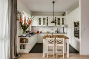 Фото 26 Кухня-гостиная площадью 12 кв. м: создаем продуманный интерьер от минимализма и хай-тека до классики и лофта