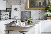 Фото 28 Кухня-гостиная площадью 12 кв. м: создаем продуманный интерьер от минимализма и хай-тека до классики и лофта