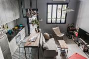 Фото 2 Кухня-гостиная площадью 12 кв. м: создаем продуманный интерьер от минимализма и хай-тека до классики и лофта
