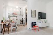 Фото 30 Кухня-гостиная площадью 12 кв. м: создаем продуманный интерьер от минимализма и хай-тека до классики и лофта