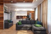 Фото 9 Две зоны и всего 14 кв. метров: создаем современный интерьер небольшой кухни-гостиной