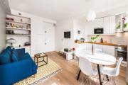 Фото 3 Две зоны и всего 14 кв. метров: создаем современный интерьер небольшой кухни-гостиной