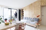 Фото 4 Две зоны и всего 14 кв. метров: создаем современный интерьер небольшой кухни-гостиной