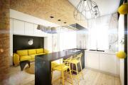 Фото 18 Две зоны и всего 14 кв. метров: создаем современный интерьер небольшой кухни-гостиной
