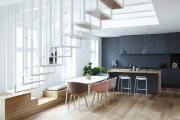 Фото 22 Две зоны и всего 14 кв. метров: создаем современный интерьер небольшой кухни-гостиной