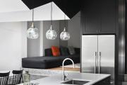 Фото 24 Две зоны и всего 14 кв. метров: создаем современный интерьер небольшой кухни-гостиной