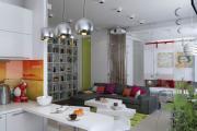 Фото 31 Две зоны и всего 14 кв. метров: создаем современный интерьер небольшой кухни-гостиной