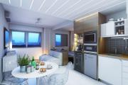 Фото 32 Две зоны и всего 14 кв. метров: создаем современный интерьер небольшой кухни-гостиной