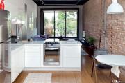 Фото 12 Гостиная-кухня площадью 20 кв. м: обзор современных дизайн-проектов и планировок