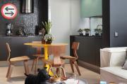 Фото 14 Гостиная-кухня площадью 20 кв. м: обзор современных дизайн-проектов и планировок